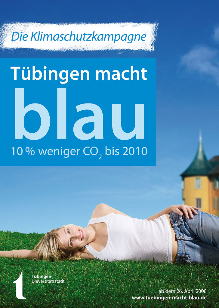 Tübingen macht blau
